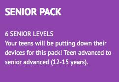 senior pack